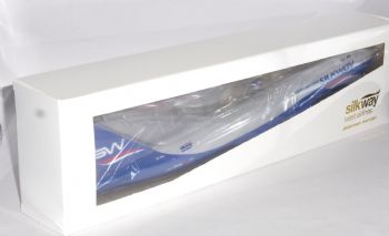 Boeing 747-8 F Silkway West Airlines Risesoon Collectors Model Scale 1:200 EJ